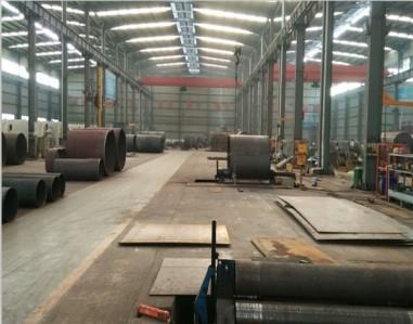 蒸汽发生器生产车间