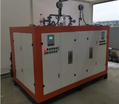 400KW电加热蒸汽发生器用户使用现场